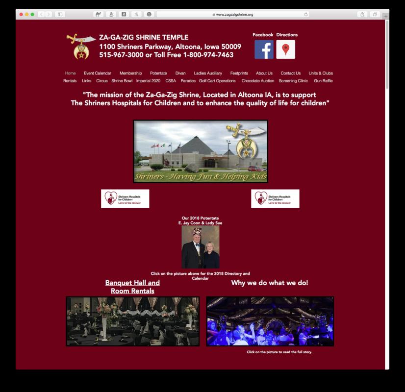 Za-Ga-Zig Website