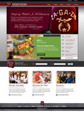 Za-Ga-Zig Website Homepage